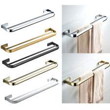 Double Bathroom Bath Towel Bar Rack Bar Towel Holder Rail Hook 57cmx11cm