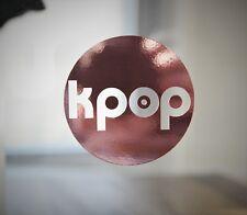 "Super Cute 3"" Kpop Logo Decal Chrome Vinyl"