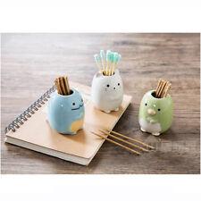 Bathroom Cartoon Ceramic Toothbrush Holder Home Decor CZ