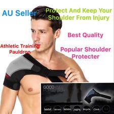 Adjustable Shoulder Pauldron Support Compression Bandage Strap Patch Protection