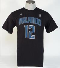 Adidas Orlando Magic Howard 12 Black Short Sleeve Tee T Shirt Mens NWT