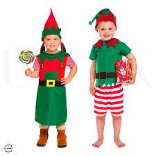 Piccolo aiutante di Babbo Natale-Bambino Natale Elf Costume Festa Di Natale