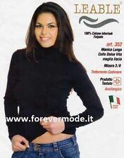 Maglia donna Leable esternabile a dolcevita in caldo cotone invernale art 352
