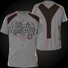 AFFLICTION T-Shirt Sport USA Grau T-Shirts Herren