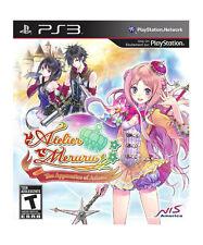 PlayStation 3 : Atelier Meruru: The Apprentice of Arland VideoGames