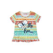 215132 Boboli Baby Mädchen Tshirt T Shirt Tunika Gr.  74 80 86 92 Neu bunt