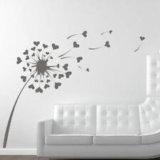 Dandelion Love Coeurs Mur Art Sticker (as10011)
