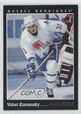1993-94 Pinnacle #244 Valeri Kamensky Quebec Nordiques Hockey Card