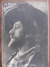 LA REVUE THEATRALE 1903 N 12 Mr ALBERT LAMBERT