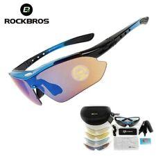 RockBros lunettes de soleil polarisées cyclisme Sports de plein air  5 lentilles