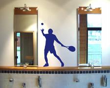 Wandtattoo Tennisspieler Aufschlag Wandaufkleber 25 Farben Tennis Wandsticker