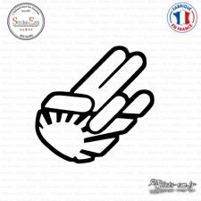 Sticker JDM Hand sunshine Decal Aufkleber Pegatinas D-206 - Couleurs au choix