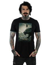 Marvel Hombre Black Panther Poster Camiseta