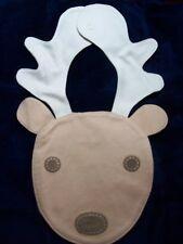 Gymboree  bib tree house reindeer acorn Kitty Glamour  NWT monkey