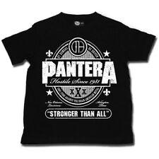 Pantera Stronger Than All Kids T Shirt Boys Girls Toddler Tshirt Age 2-8 New