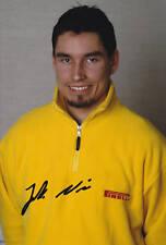 Rally Driver Jarkko Nikara Signed Photo 12x8.