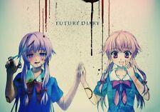 156847 Mirai Nikki Redial Anime Wall Print Poster CA