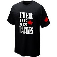T-Shirt CANADA - FIER DE MES RACINES - ★★★★★★