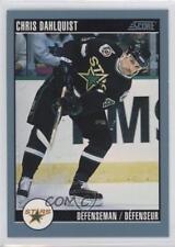 1992-93 Score Canadian #294 Chris Dahlquist Minnesota North Stars Hockey Card