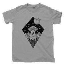 Alien T Shirt Spaceship Exploration Solar System Extraterrestrial Figure Toy Tee