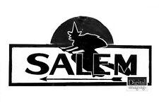 1900s photo reprint: Salem Road Sign