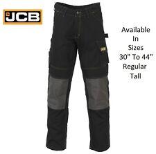 Da Uomo JCB CHEADLE PRO Cargo Lavoro Heavy Duty Pantaloni Pantaloni Knee Pad Tasche Taglia