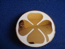 Stemma Zeichen signet Logo badge alfa Romeo GT Bertone Abzeichen goldenes Kleebl