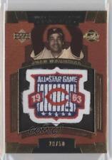 2004 Upper Deck Sweet Spot Classic Patch 50 #SSP-MA Juan Marichal Baseball Card