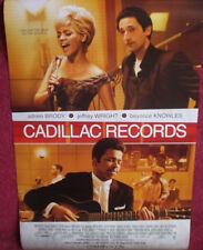 Cinema Poster: CADILLAC RECORDS 2009 (One Sheet) Beyoncé