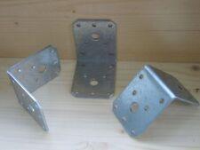 66x Winkelverbinder mit Sicke,70 x 70 x 55mm,Winkel,Stahlwinkel,Balkenwinkel,W7