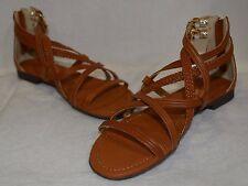 Report Women's Georgya Cognac Gladiator Sandals - Size 7/7.5/8/8.5/9 NWB