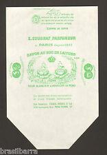 3 ETIQUETTES BOITES DE SAVON :SAVON AU SUC DE LAITUES de E. COUDRAY Parfumeur