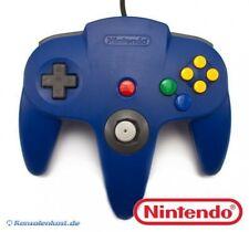 Original Nintendo N64 Controller / Gamepad #Blau - Zustand auswählbar