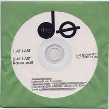 THE DO At Last 2009 UK 2tk promo test CD + press release