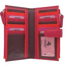Visconti Leather Rainbow Collection BERMUDA Purse RB100