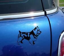 DETAILED AUSTRALIAN TERRIER AUSSIE DOG GRAPHIC DECAL STICKER ART CAR WALL DECOR