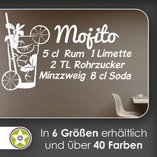 waf0978 - Mojito Sticker mural Recette sticker mural KIWISTAR - Autocollant