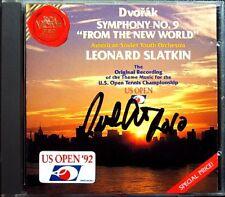 Leonard Slatkin signed DVORAK Symphony No. 9 from the New World RCA CD 1992