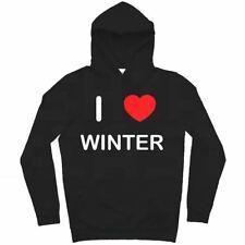 I Love Winter - Hoodie