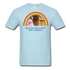 Camisa retro años 80 TV Arco Iris, Zippy George & Bungle, Nuevo, Unisex, todos los tamaños