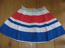BODEN JOHNNIE B STRIPED MINI RA RA SKATER SKIRT RED WHITE BLUE 26 R UK 8 BNWT
