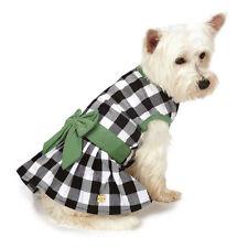 M. Isaac Mizrahi Gingham Bow Dog Dress Pet Designer Dresses Dogs