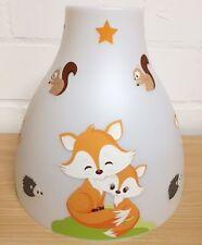 Hängelampe - FUCHS FOX orange -  1- oder 2-flammig  - auch LED - mit/ohne Name
