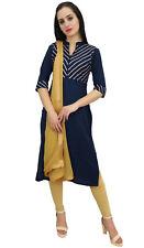 atasi blaue gerade designer salwar kameez bollywood ethnische anzug set