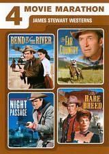4 Movie Marathon: James Stewart Western DVD