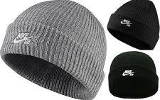 Nike Mens SB Icon Logo Fisherman Beanie Hat Skull Cap Unisex Winter Skate