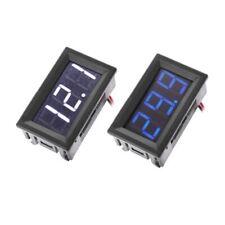 DC 5V-120V 2 Wire Digital Voltmeter LED Display Panel Volt Voltage Test Meter