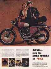 1968 BSA SPITFIRE MK IV MOTORCYCLE  ~  NICE ORIGINAL PRINT AD