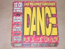 BOITIER 12 CD EXPORT / MEILLEURES CHANSONS DANCE DU SIECLE / RARISSIME / TB ETAT