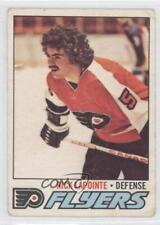 1977-78 O-Pee-Chee #152 Rick Lapointe Philadelphia Flyers Hockey Card